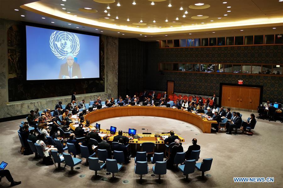 UN-SECURITY COUNCIL-YEMEN-MEETING