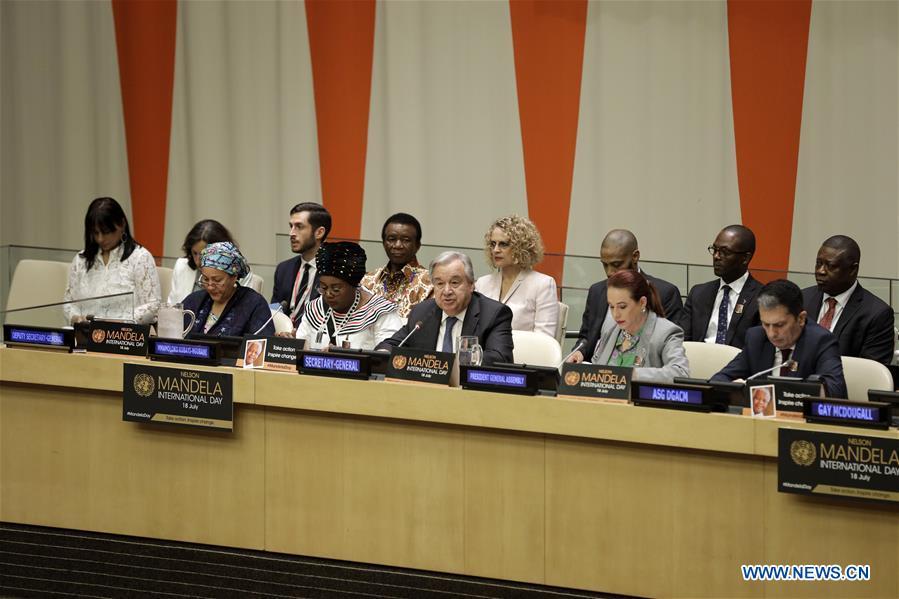 UN-NELSON MANDELA INTERNATIONAL DAY-MEETING
