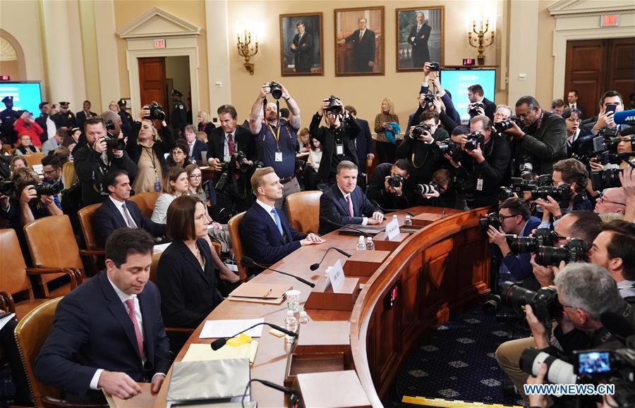 U.S.-WASHINGTON D.C.-WITNESS-TESTIFY-TRUMP